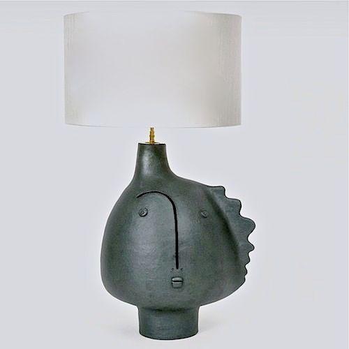 Ridge, Escarpment:  DaLo - Ceramic Lamp Base