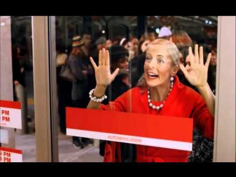 Love the Target Lady.  These commercials crack me up.  (Added bonus of Air Supply on this one...)