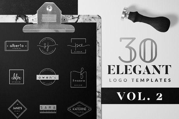 Elegant Logo Pack VOL 2 by Graphic Dash on @creativemarket