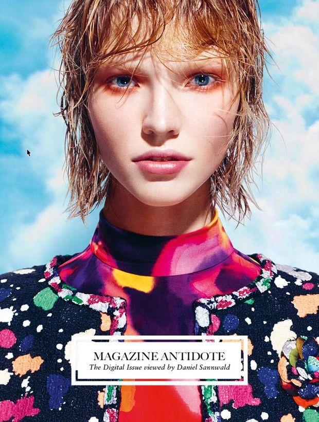 Antidote Magazine Spring Summer 2015 by Daniel Sannwald