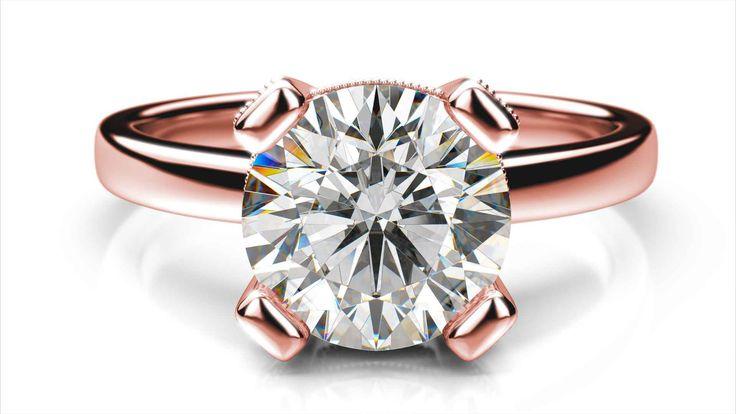 Zásnubný prsteň Amari round