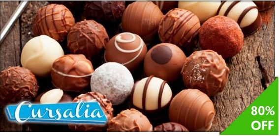 Cursos de chocolatería fina básica + decoración de chocolates en Cursalia de $2,400 a $480