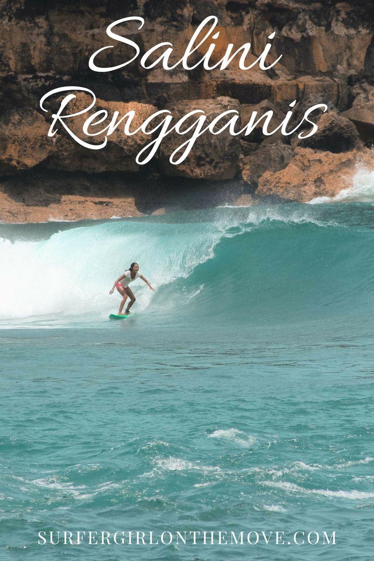 Salini Rengganis é uma das esperanças do surf feminino na Indonésia. Tive oportunidade de conhecê-la quando viajei até Java no verão passado. Fiquem com esta menina cheia de garra!