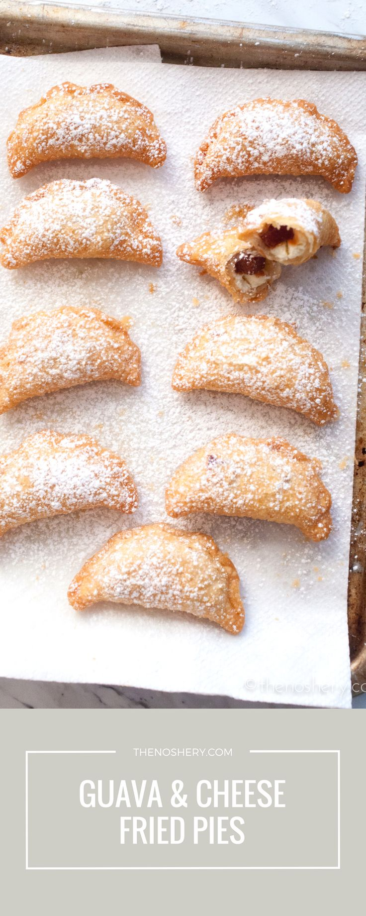 Guava And Cheese Mini Fried Pies