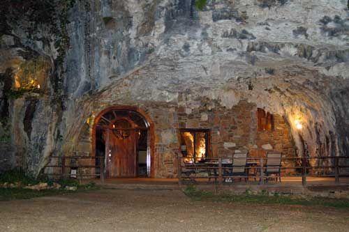 Beckham Creek Cave Lodge, Parthenon, AR   Odd & Unique ...
