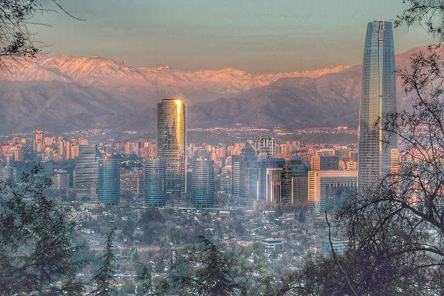 HDR Travel Pictures: Santiago desde el Cerro