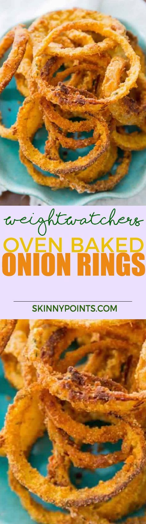 Oven Baked Onion Rings With Only 3 weight watchers smart points