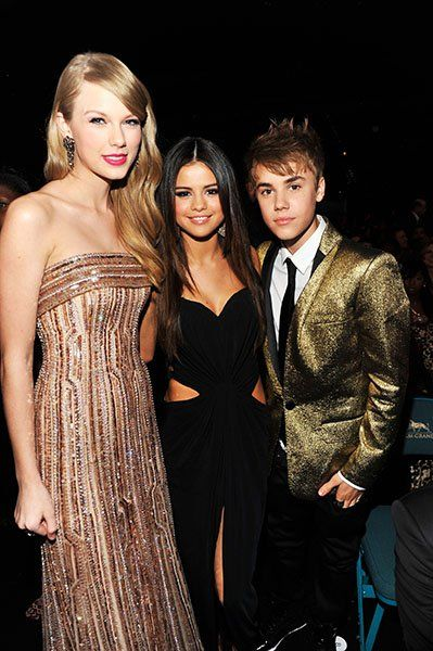 Taylor Swift, Justin Bieber, and Selena Gomez.