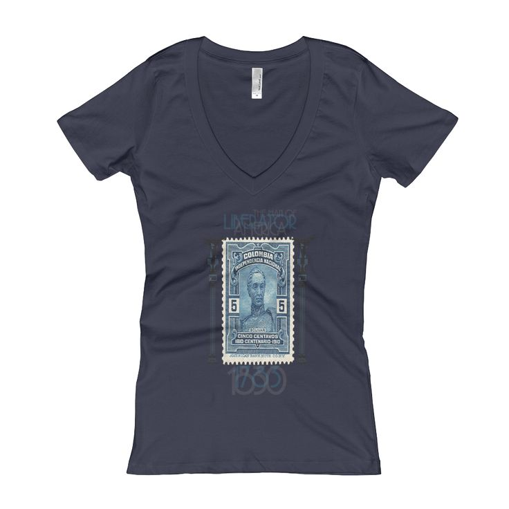 The Liberator Women V-Neck T-Shirt