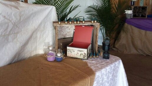 Card box and gift table