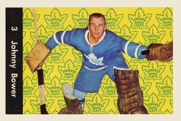 Johnny Bower 1961-62  Parkhurst Hockey Card