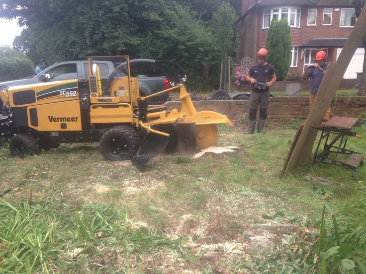 Demoing the Vermeer SC552 last month! http://www.wainwrightstumpremoval.co.uk/contact-us/  Stump grinder stump removal