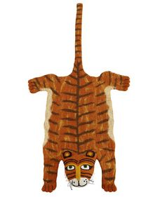 Aspace tiger design felt rug. Animal magic: Zoo decor for a child's bedroom | Cosy Home Blog