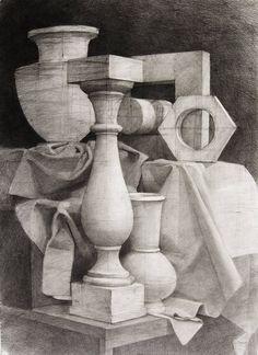Still-life drawing