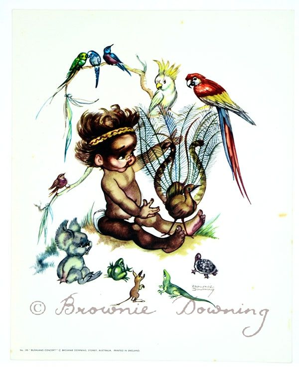 Print - indigenous Australian child 7 - Brownie Downing | Artist & Illustrator | Official Site