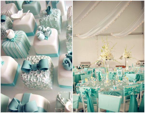 tiffany blue theme weddings