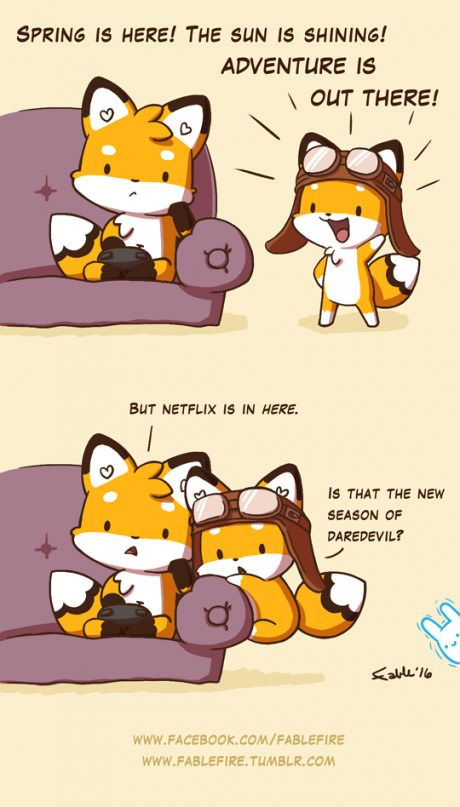Adventure is out, Netflix is in