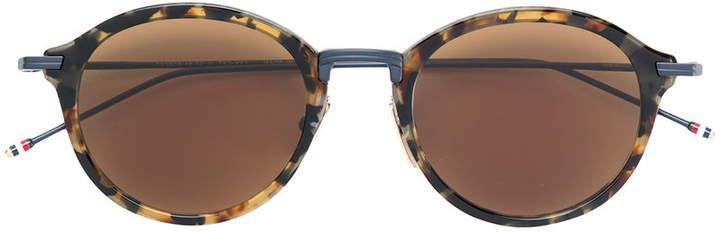 Thom Browne Eyewear tortoiseshell sunglasses