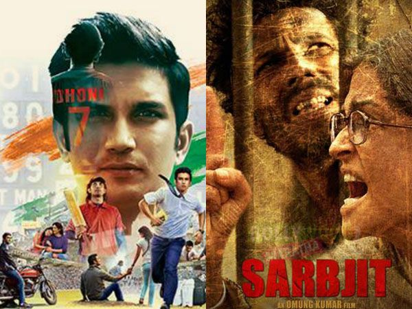 WOW! 'Sarbjit' and 'M.S. Dhoni: The Untold Story' in the Oscars list