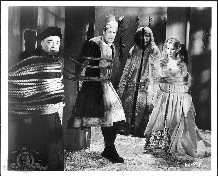 the raven 1963 | Still Of Peter Lorre, Vincent Price And Olive Sturgess ...