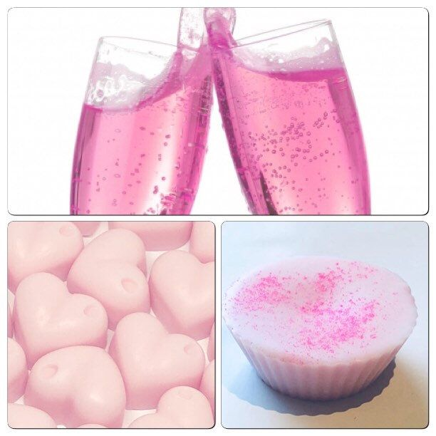 Pink Champagne Soy Wax Melts