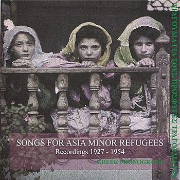 Songs for Asia minor refugees Recordings 1927-1954 – Rita Abatzi – Listen ...