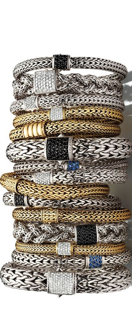 VERY nice examples of Viking (Norse)  'Braid'  (We think they called it wire-weaving.)  Also:                               €$€$€$BLING$€$€$€