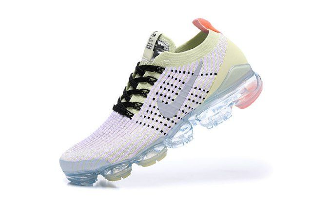 separation shoes 07fa3 8d5f4 Nike Air Vapormax Flyknit 2019 Light Purple Yellow Men's ...