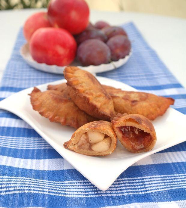 Forró fahéjas-gyümölcsös párna