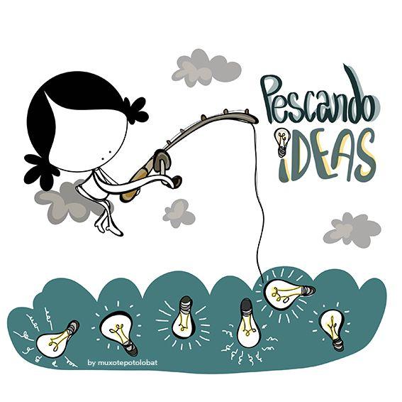 Pescar las intuiciones sorprendentes. Las certezas improbables. las locuras necesarias. Pescar las ideas que surgen de los sitios más inesperados. Eeeeegunon mundo!! ¡¡¡Compártelo!!!