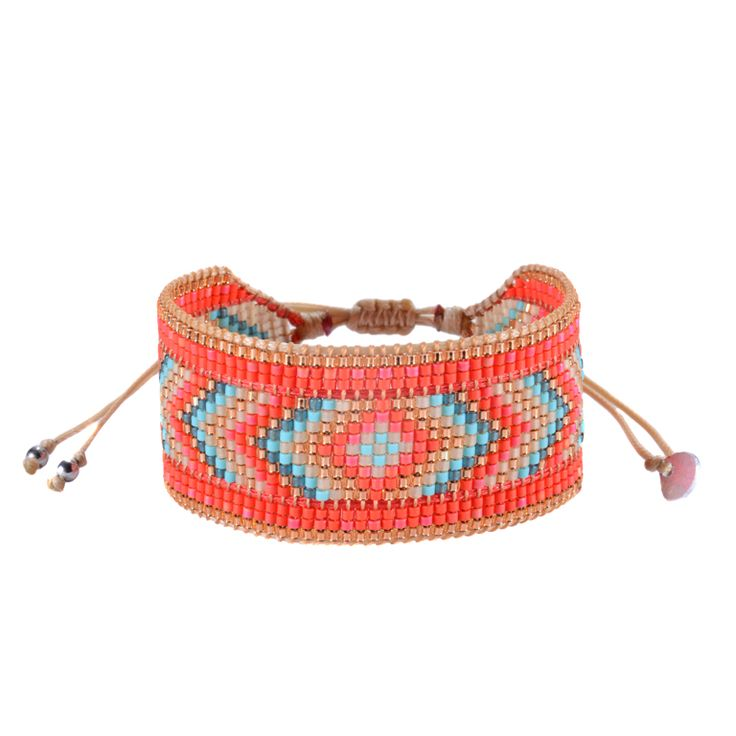 Mishky Diamond Red Gold Turquoise - 100 Jours pour échanger