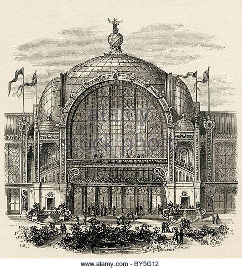 The paris exposition or paris world 39 s fair of 1878 held for Expo paris mars