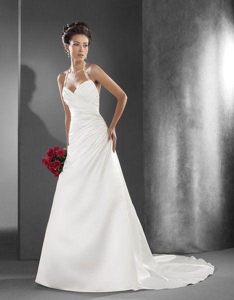 Brautkleid Neckholder - Neckholder Brautkleider Modell Dione