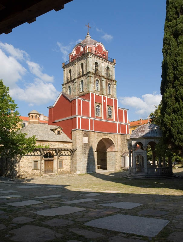 TRAVEL'IN GREECE I #Iveron, The Bell-tower and the Refectory