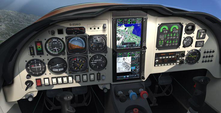 RealAir :: Home Lancair Legacy v2 Released! Cockpit