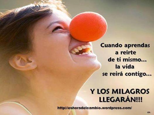 ¿Que tanto se ríe la vida contigo? http://eshoradelcambio.wordpress.com/
