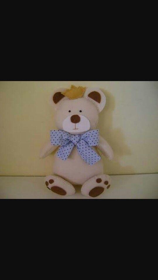 Urso de feltro