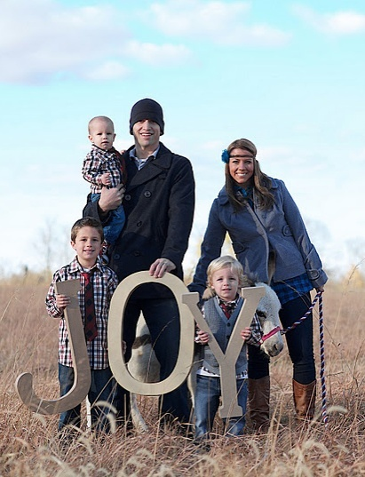 Art Cute Family Christmas Pic photography