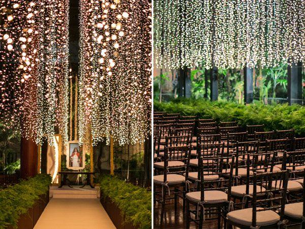 Decoração de casamento com luzinhas - Constance Zahn { Casamentos }