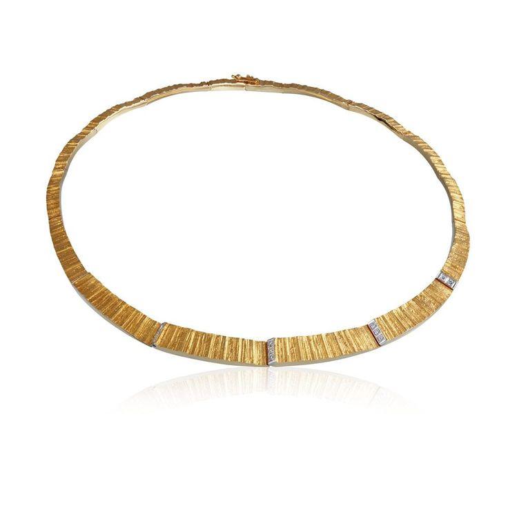 CIRIA Gold Necklace / Design Björn Weckström / Lapponia Jewelry / Handmade in Helsinki