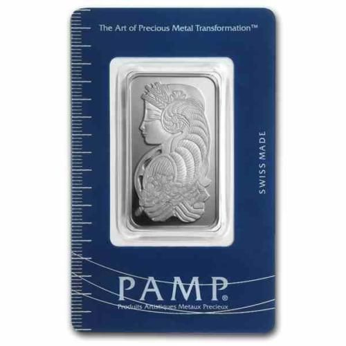 New-20-grams-Silver-Pamp-Suisse-Fortuna-Ingot-Bar-amp-integrated-Assay-Certificate