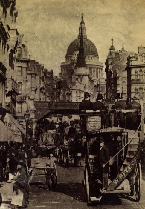 London in the late 1880s