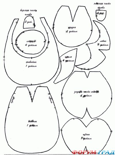 Птицы (утки, гуси, петухи) - Страница 3 - Подарки, сувениры, игрушки из тканей научимся делать красиво сами - Форум-Град