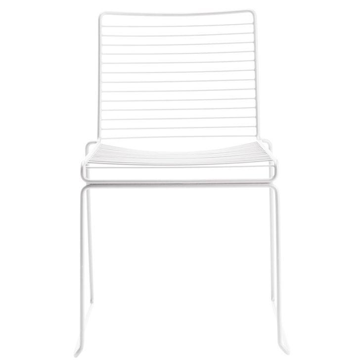 Hee Dining stol, vit i gruppen Rum / Kök / Köksmöbler hos RUM21.se (105976)
