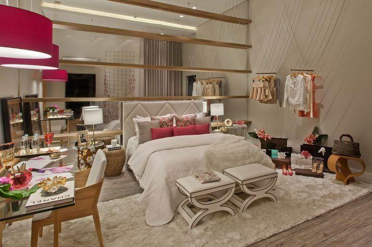 Decor Salteado - Blog de Decoração e Arquitetura : Decoração de quartos para moças/blogueiras - veja modelos lindos e modernos!