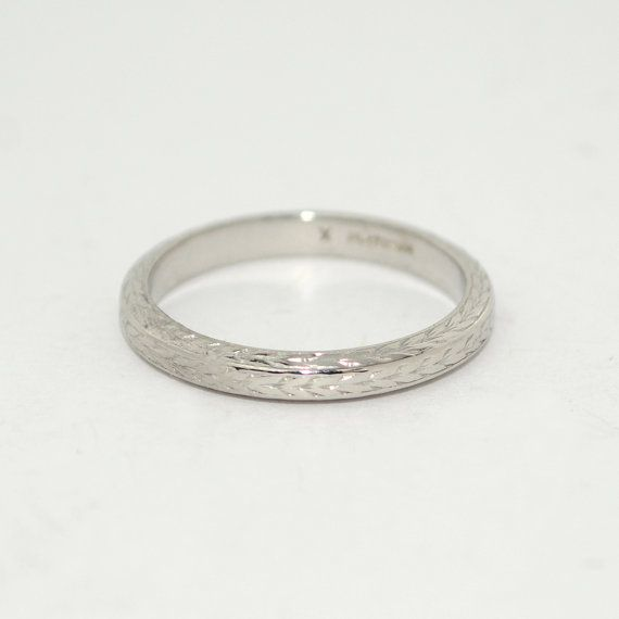 antique platinum wedding band. antique wedding band platinum fully by thecoppercanary