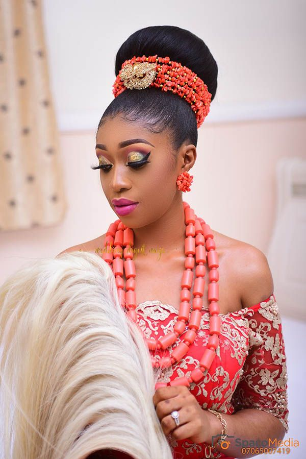 Chioma And Obiora S Igbo Traditional Wedding Is Filled With All Things Beautiful The Vibrant B Igbo Traditional Wedding Traditional Wedding Attire Igbo Bride