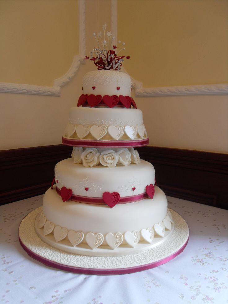 My niece' wedding cake rekindled my love of cake decorating