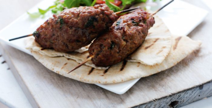 Paprika BBQ Lamb Mince Skewers. Quick and easy lamb barbecue recipe.