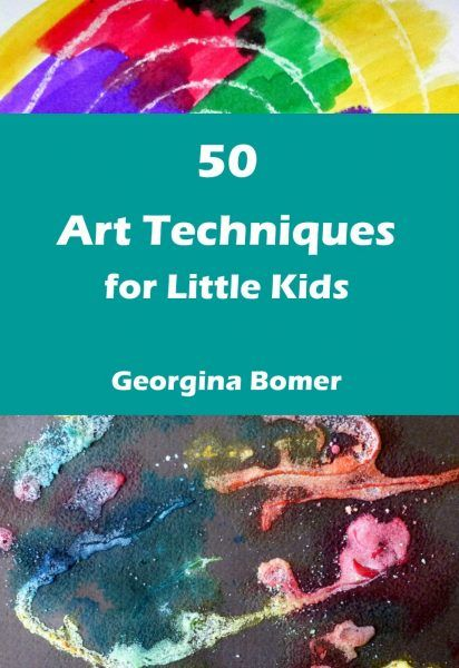 50 Art Techniques for Little Kids - the book